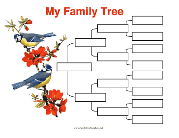 Family tree template family tree templates 4 generations for 11 generation family tree template