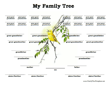 Family tree template family tree template siblings for Family tree templates with siblings