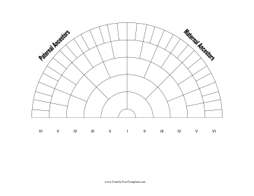 generation family tree fan chart template this 6 generation family ...