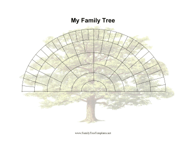 generation fan family tree template the family tree in this free ...