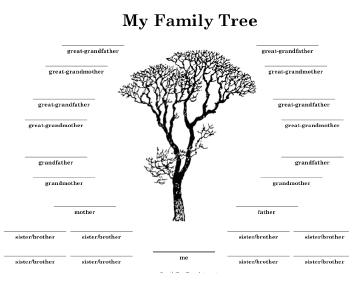 family tree with many siblings template if you have lots of siblings ...