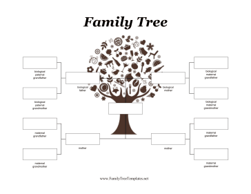 two mothers adoptive family tree template children adopted by two ...